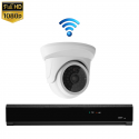 1x Mini Dome IP Camera 1080P POE Draadloos