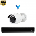 1x Mini IR IP Camera 1080P POE Draadloos