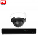 1x Dome IP Camera 2K POE Bekabeld
