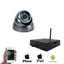 1x Draadloze Dome Camera DVR