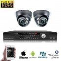2x Mini Dome Camera Set HD SDI