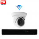 1x Mini Dome IP Camera 2K POE Draadloos