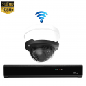 1x Dome IP Camera 1080P POE Draadloos