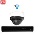 1x Dome IP Camera 2K POE Draadloos