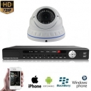 1x Dome Camera Set Wit 720P HD