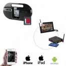 Draadloze Ipod Dock Camera LCD / DVR
