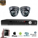 2x Mini Dome Camera Set 720P HD
