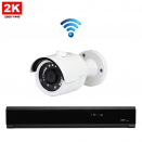 1x Mini IR IP Camera 2K POE Draadloos