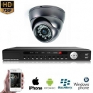 1x Mini Dome Camera Set 720P HD