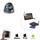 Draadloze Dome Camera LCD / DVR