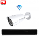 1x IR IP Camera 2K POE Bekabeld