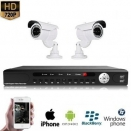 2x IR Camera Set 720P HD