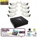8x HD IP IR Camera Set + TABLET