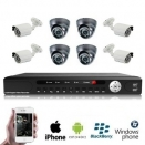 8x IR Dome Camera Set PREMIUM