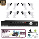 8x IR Camera Set 720P HD + TABLET