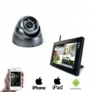 1x Draadloze Dome Camera LCD DVR
