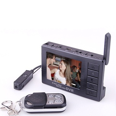 Draadloze Mini Spy Camera LCD DVR
