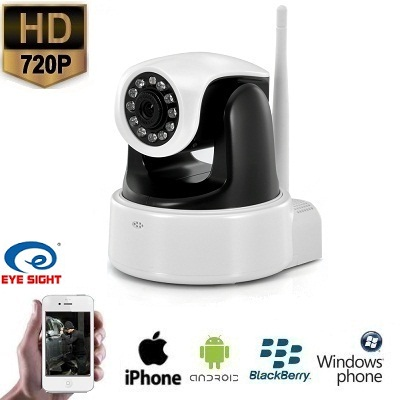 IP WIFI Pan Tilt Camera HD Babyfoon