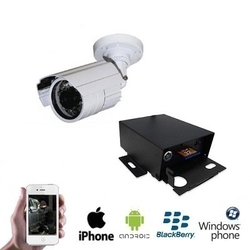 1x PREMIUM Mini IR Camera IP DVR